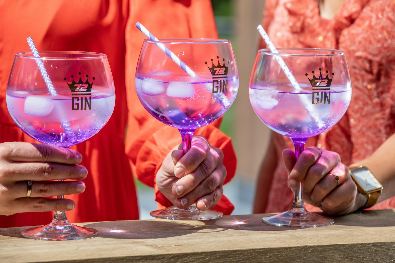S72 Gin Violet Flavored Cocktails