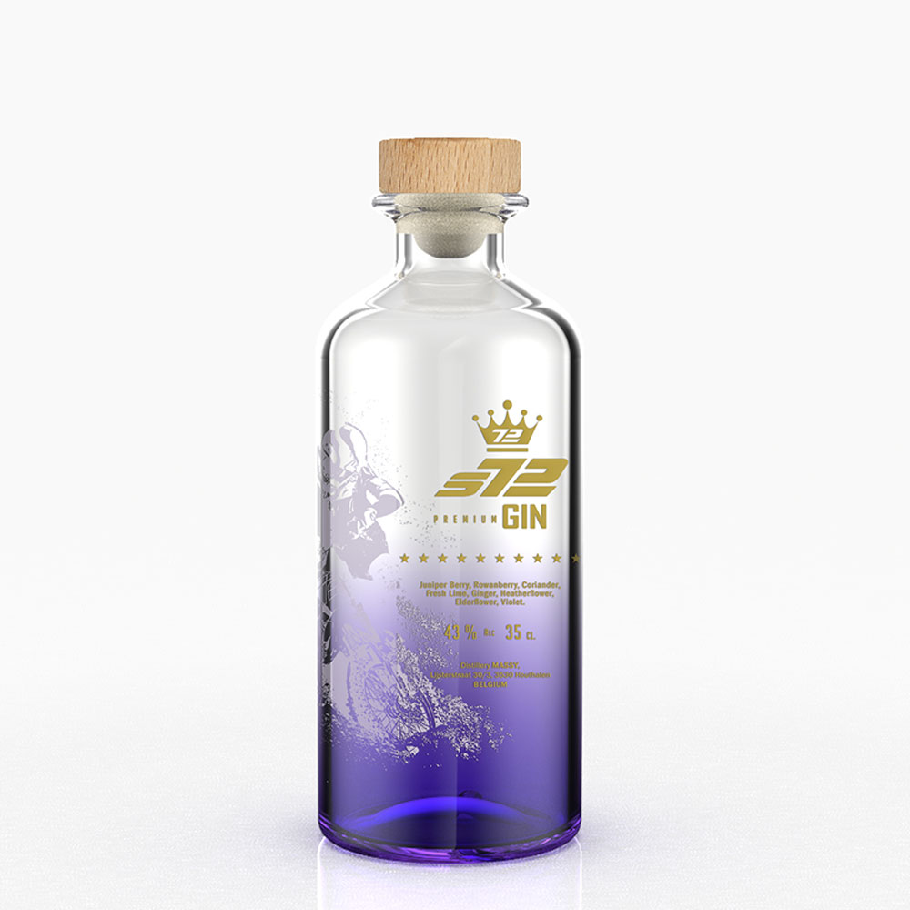 S72 Gin 35cl Violet Flavored Purple